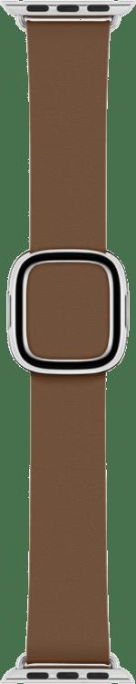 Armband med modernt spänne till Apple Watch