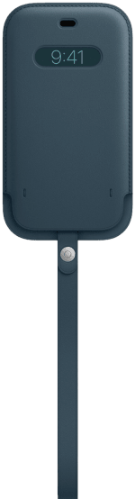 iPhone 12 | 12 Pro Läderfodral med MagSafe